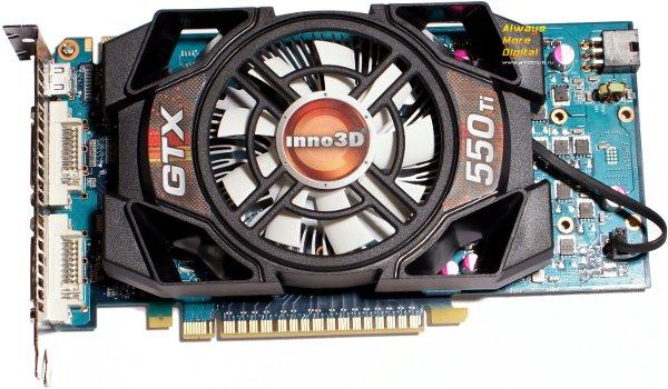 Внешний вид GeForce GTX 550 Ti