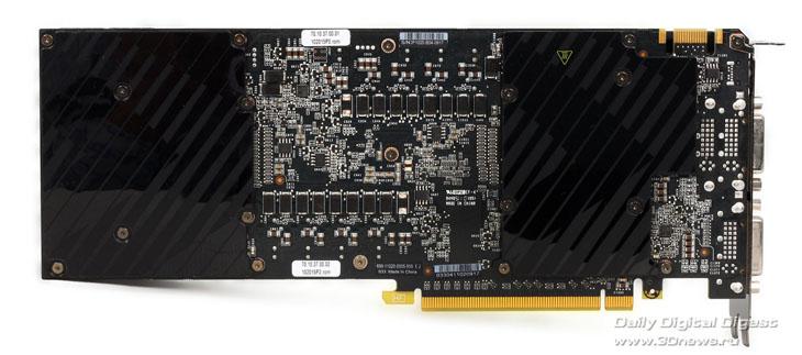 печатная плата GTX 590