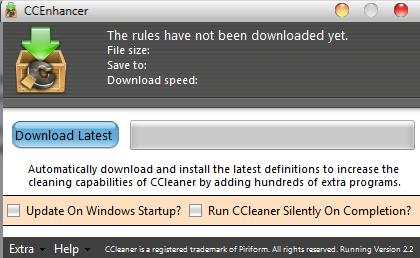 обновление ccleaner