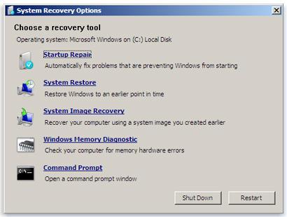 Восстановление загрузчика windows 7 своими руками