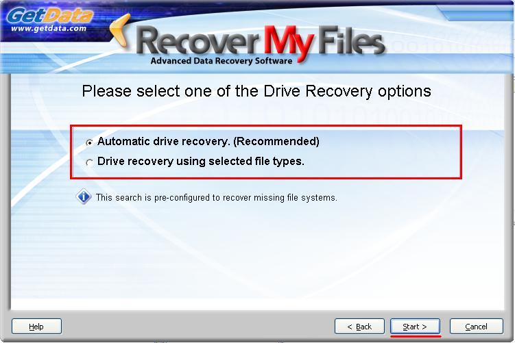 Восстановление данных с карты памяти - Recover My Files