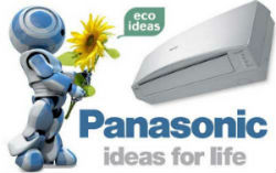Логотип кондиционеров Panasonic