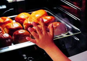 Приготовление пищи в духовом шкафу Гефест