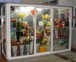 Торговый холодильник для цветов