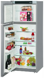 Холодильник с морозильной камерой