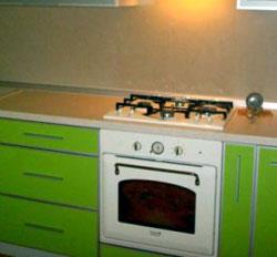 Встроенная газовая плита