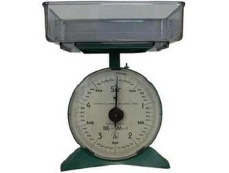 Механические весы с чашей