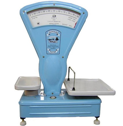 Одна из наиболее популярных моделей бытовых весов для торговли