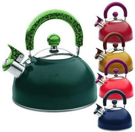 Обычная бюджетная модель чайника со свистком