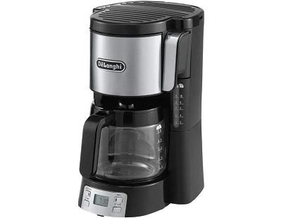 Кофеварка капельного типа от Delonghi