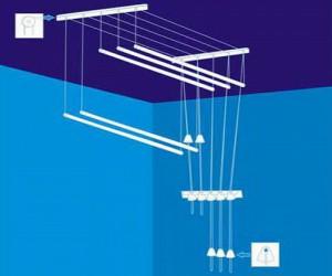 Виды сушилок для белья: напольная, настенная, потолочная, Портал о компьютерах и бытовой технике