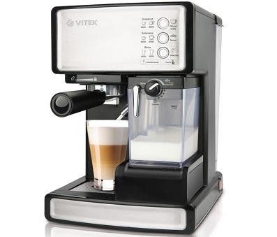 Кофеварка рожкового типа от Vitek